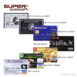 USB-Stick Kreditkarte 4GB 8gb 16gb 32G USB-Stick USB-Flash-2.0 Memory-Stick-Laufwerk USB-Stick lustiges Geschenk geben Schiff frei
