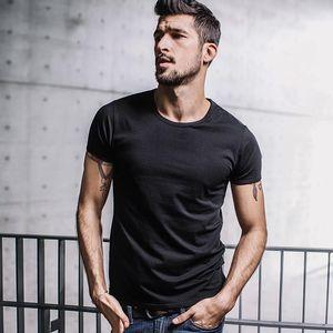 Sommermens beiläufigen T-Shirts 10 Volltonfarben-Marken-Kleidung des Mannes trägt kurze Hülsen-dünne T-Shirts Tops Tees Plus Size Famous