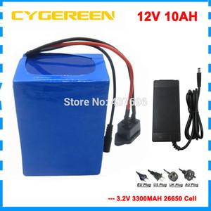 10pcs batteria ebike UPS 150W 12V 10000MAH 12V LFP all'ingrosso batteria lifepo4 12v 10ah con BMS 15A 14.6V 3A caricatore