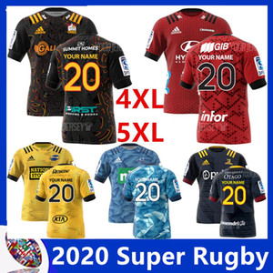 2020 New Zealand Super Rugby Jersey Crusades Highlanders c hiefs Highlanders home Jersey Hurricanes blues регби Майки размер S-L-5XL