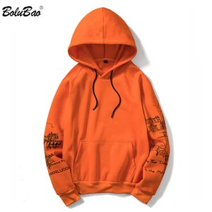 BOLUBAO Men Letter Print Hoodie Sweatshirts Winter Mens Fashion Solid Color Hoodies Male Hoodies Sweatshirts Top EU Size V191105