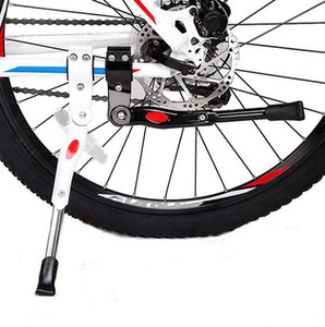 Bike Parking Rack Kickstand Mountain Bike Bicycle Cycle Prop Side Rear Kick Stand Bicycle Accessories bicycle feet tools LJJK2167