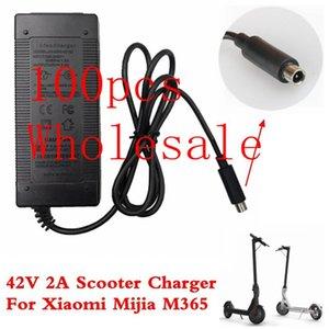 Xiaomi Mijia M365 Elektrikli Scooter Kaykay AB / AU / UK Tak 100pcs 42V 2A Scooter Şarj Şarj Güç Kaynağı Adaptörü