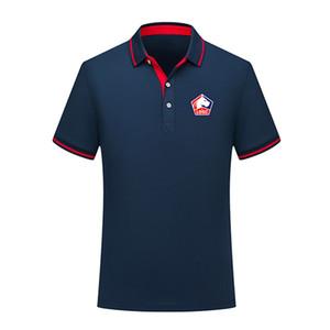 Лилль Losc 2020 лето мода хлопка футбол рубашки поло мужчин с коротким рукавом Джерси поло отворот футбола мужчин рубашки поло обучение Мужская Polos