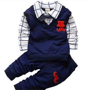 2019 New Baby Boy Vêtements Ensemble Enfants Vêtements Ensembles Produits Vêtements Enfants Vêtements pour enfants T-shirts + pantalons 2PCS Suivi