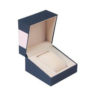 Держатель случая подарка один слот с крышкой байковые хранения Home Таблица Jewelry Организатор Дисплей Full Protective Watch Box Square