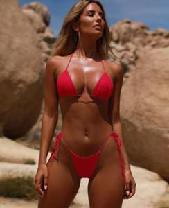 migliori 2020 donne Bandage regolabile poliestere sexy tampone in tessuto del seno per le donne ragazze Costume intero yakuda elegante flessibile Bikini regolati