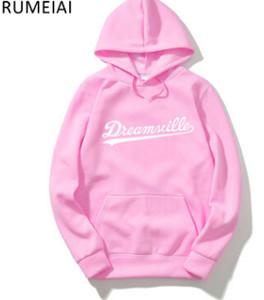 Hombres Dreamville J. COLE Sudaderas Otoño Primavera Sudaderas con capucha Hip Hop Casual Jerseys Tops Ropa