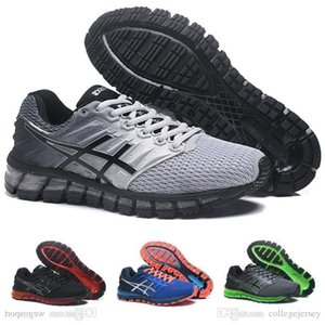 Gel-quantum 360 Ii New Design Cinzas Mens Branco Preto Almofada Running Shoes originais 2 2s melhor qualidade Sneakers Athletic