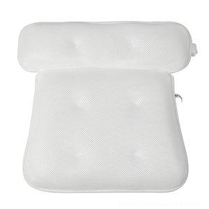 HOT SALE Breath 3D Andere Toiletten Supplies Bath Mesh-Whirlpool-Kissen mit Saugnäpfen Nacken- und Rückenstütze Spa-Kissen für das Heim Hot Tub