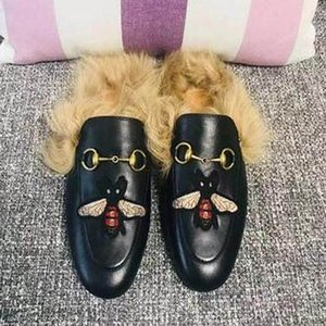 Fashion casual women shoes 039 embroidery Plush shoes Metal buckles slippers fur rubbershoes.Flower,bee,snake,letter shoes.Big women siz r06