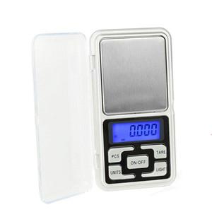 200g / 300g / 500g x 0.01g /0.1g/Mini Presicion bolso balança eletrônica digital para jóias de ouro Escalas Balance Gram