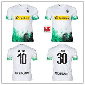 19 20 home Borussia Monchengladbach fußball trikots # 10 hazard # 11 RAFFAEL # 13 STINDL # 14 PLEA fußballtrikots maillot de foot thailand
