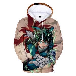 Japão Anime meu herói Academia 3D Imprimir homens oversized hoodies camisolas Costumes Boku No Hero Academia Cosplay Colégio Uniforme
