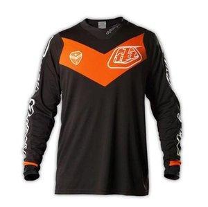 2020 Nuovo Tld Downhill Mountain Bike Servizio Jersey Giacca manica lunga estate motocross Tuta t-shirt