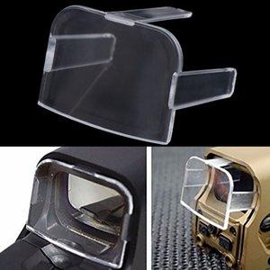 Len Caps Protecteur de lentille Transparente Airsoft Cover pour 551 552 553 Type de Holographic Lunette de visée Len Caps