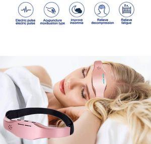 رئيس مدلك، مدلك فروة الرأس، مدلك كهربائي محمول، أداة تدليك النوم علاج الأرق، المحمولة.