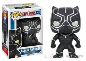 2019 Funko Pop! Captain America 3: Civil War Black Panther Vinyl Action-Figur