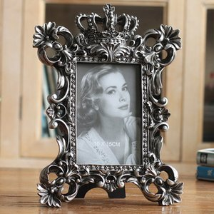 European style retro frame elegant old style photo frame home furnishings fine classic imitation old resin