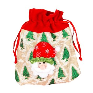 New  Candy Socks Christmas Socks Gift Bag Christmas Decoration Decoration Jewelry Large Elk