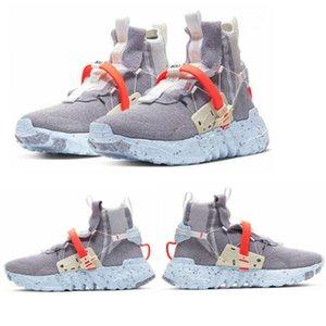 2020 Yeni tasarımcı satış öncesi 03 Uzay hippi ayakkabı mavi-gri-kırmızı CQ3989-001 erkek bayan ayakkabı ayakkabı kaliteli boyutu 36-46 Koşu