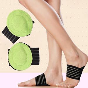 Palmilhas Ortopédicas Massagem Almofada Do Pé Arco Ortopédico Apoios Flat Foot Palmilhas Sapatos Protetor Acessórios Sapato Cuidados Com Os Pés DHL WX9-1311