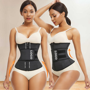 Tummy Control Shapewear Latex Waist Trainer Private Label Slimming Belts