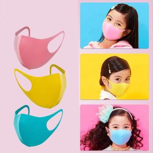 3 pcs / lot Candy Color máscaras de esponja para crianças reutilizáveis Boy Girls Mask PM2. 5 Anti-fumos À Prova de pó máscara Respirável muffle de Boca melhor E31709