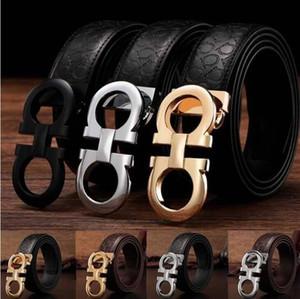 Cinturones de lujo para hombres hebilla de diseño cinturones de castidad masculina marca de moda para hombre cinturón de cuero al por mayor dropshipping