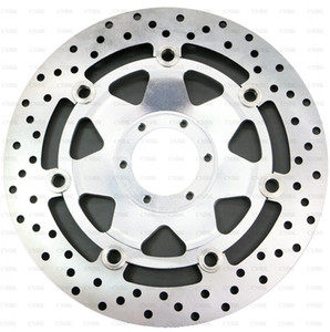 Frente Floating Disc Pan Brake Rotor para VFR 800 Fl (RC46 K011) VFR800 1998 - 2005 2004 2003 2002 2001 2000 1999 98 05