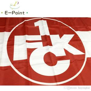 Германия 1. FC Kaiserslautern 3*5ft (90см*150см) полиэстер флаг баннер украшения летающий дом сад флаг праздничные подарки