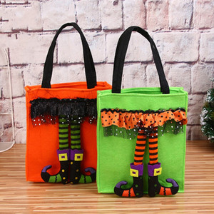 Подарочные пакеты для детей Нетканые изделия Fairy Candy Bag Портативные прочные сумки Fit Christams Halloween украшения Новое поступление 6 5 мг E1