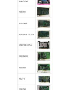 PCA-6187VE / PCI-1756 / PCI-1240U / PCI-1711UL CE-100 k / MIC-3377 A1 / PCI-1612BU / PCI-1760 / PCL-746 / PCI-1713 / PCL-818L-B para Advantech