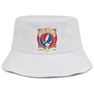 Grateful-discography-Dead-CD-Two from the Vault white women fishing bucket sun hat design blank personalized fashion classic bucket sunc