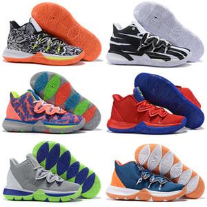 Originale Irving Limited 5 Mens Kyrie Scarpe da basket 5s Black Magic per Kyries chaussure homme de basket ball Sneakers da ginnastica