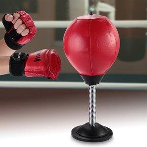 Di alta qualità scrivania boxe Sacco Da Boxe palla velocità Borse PU Punch Training Fitness Sport pratico rilascio di Stress