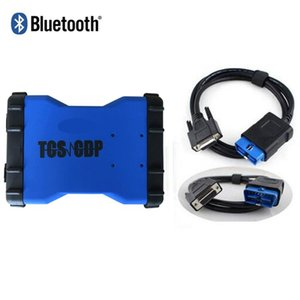 3pc lot VD TCS CDP with bluetooth scanner 2020.00   2020.03 keygen scan for delphis cars trucks obd2 diagnostic tool china post