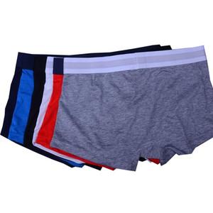 100% Nuova biancheria intima Vogue per uomo Boxer Gay Underwear Underwear 2021 Nuovi shorts Sexy sudore assorbente pugili di cotone traspirante