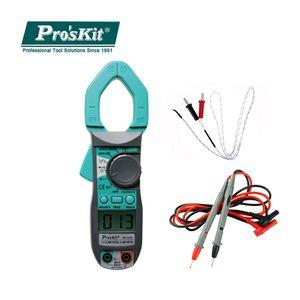 Pro'skit Интеллектуальный цифровой клещи Профессиональный электрик Мультиметр Измерение сопротивления постоянному току Multi Tester