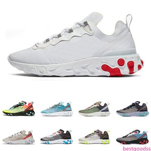 2019 React Element 87 55 running shoes for men women top quality Anthracit GAME Royal Tint fashion mens trainers lightweight sports sneakers
