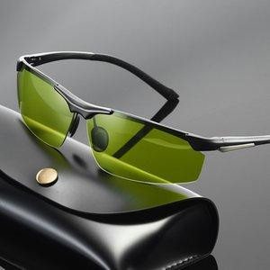 2020 nuova di magnesio alluminio polarizzato la visione notturna di colore degli occhiali da sole 804 Occhiali da sole uomo alla guida di sport degli uomini occhiali da sole