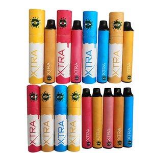 POP XTRA Pod Device Disposable Vape Pens E Cigarettes Vape Stick Starter kits 3.5ML Empty Pod Packaging 650mAh Battery Vaporizer Pen
