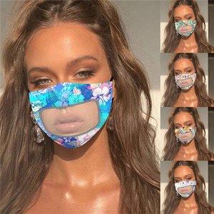 DHL / Yıkanabilir Pamuk Plastik net ağız kapak kalkan Yeniden kullanılabilir Bisiklet Açık Koruyucu D62315 olan kadınlar Yaz Nefes Yüz Maskeleri Maske