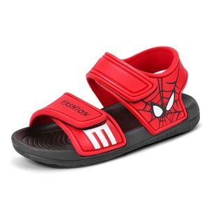 2020 Summer Baby Boy Sandals Children Sandals for Girl Boy Batman spiderman sandals summer Girls shoe beach shoe Camo Boy shoes#ccc