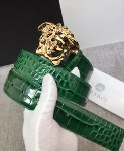 Crocodile Veines Ceintures Designer Ceinture de luxe pour Ceintures Homme Femme Mode casual Marque aiguille Boucle 4 Couleurs en option de haute qualité avec la boîte