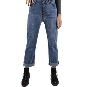 2020 jeans mujer Full Length Mom Jeans Cowboy Denim Pants Women's pants