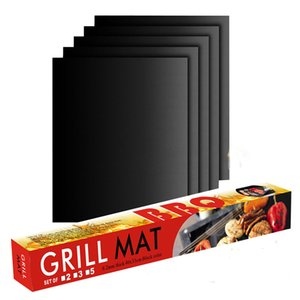 Yapışmaz Barbekü Grill Mat 0.25mm kalınlık Ptfe Isı ResistantEasily CleanedHeat Dayanıklı Gıda Tipi Pişirme Bbq Grill Mat, Pişirme Mat