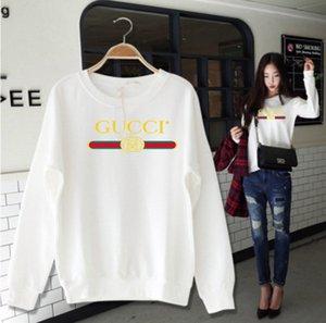 2020 년 새로운 여성 재킷 디자이너 후드는 브랜드 인쇄 스웨터 남성 여성 라운드 목 느슨한 연인 자는 스웨트 셔츠 T 셔츠