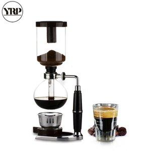 gros japonais style café Siphon Pot 3/5 tasses Siphon café goutte à goutte Bouilloire Filtre à vide Pot Cafetera TCA-3/5 Siphon machine à café