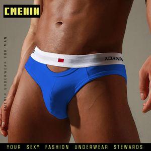 CMENIN Cotton Sexy Gay Men Underwear Bikini Lettre Slips Hommes ComfortableMens Slips Shorts d'homme AD7501